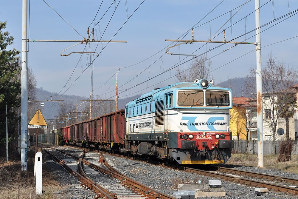Rail Traction Company D753 (IT)